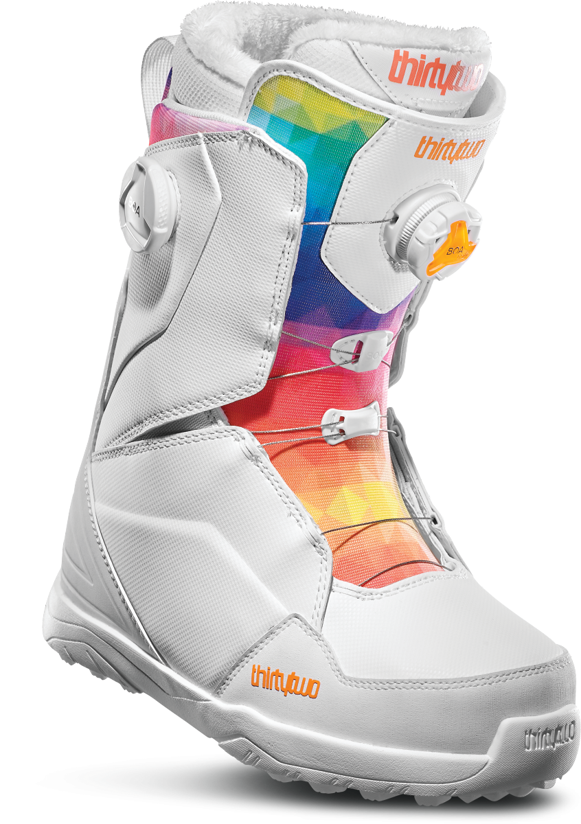 Ботинки для сноуборда THIRTYTWO LASHED WMN DOUBLE BOA 19-20, White