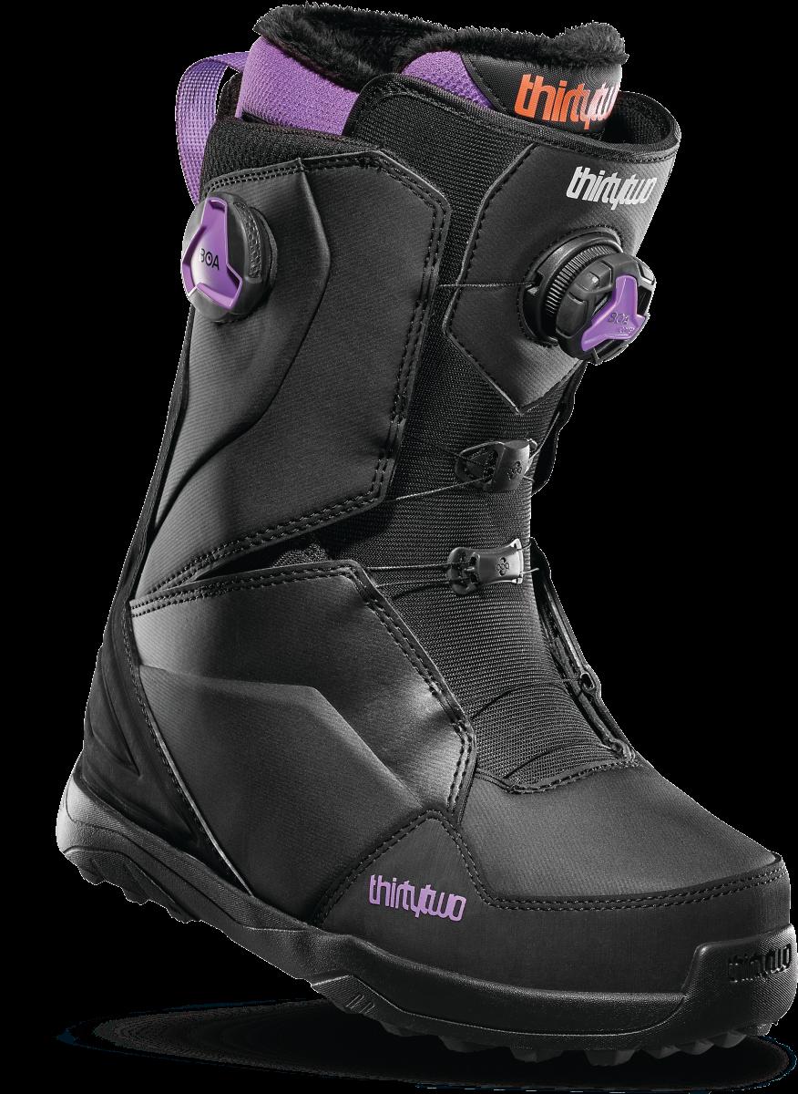 Ботинки для сноуборда THIRTYTWO LASHED DOUBLE BOA 19-20, Black