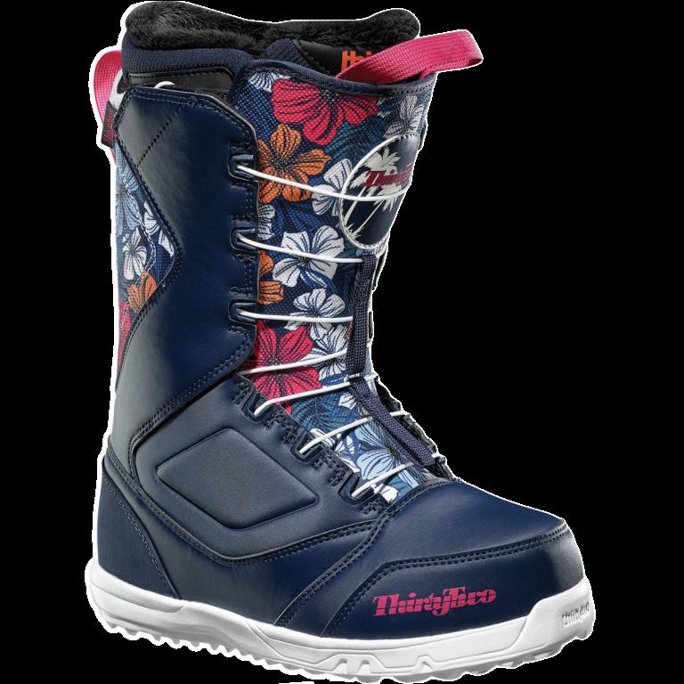 Ботинки для сноуборда THIRTYTWO ZEPHYR WMN 18-19, Floral