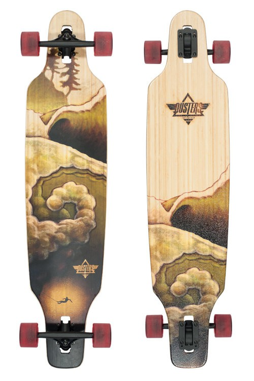 "Лонгборд DUSTERS DEEP DROP-THROUGH BAMBOO SS16, 9.6""x42"""