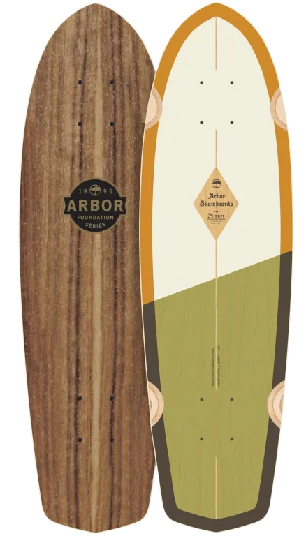 "Дека ARBOR POCKET ROCKET FOUNDATION SS18, 7.8""x27"""