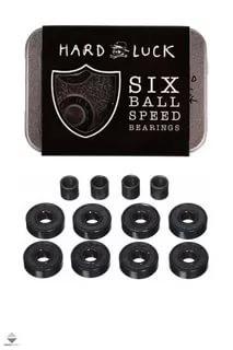 Подшипники HARD LUCK SIX BALL 8mm, Abec-7 (комплект 8 шт.)