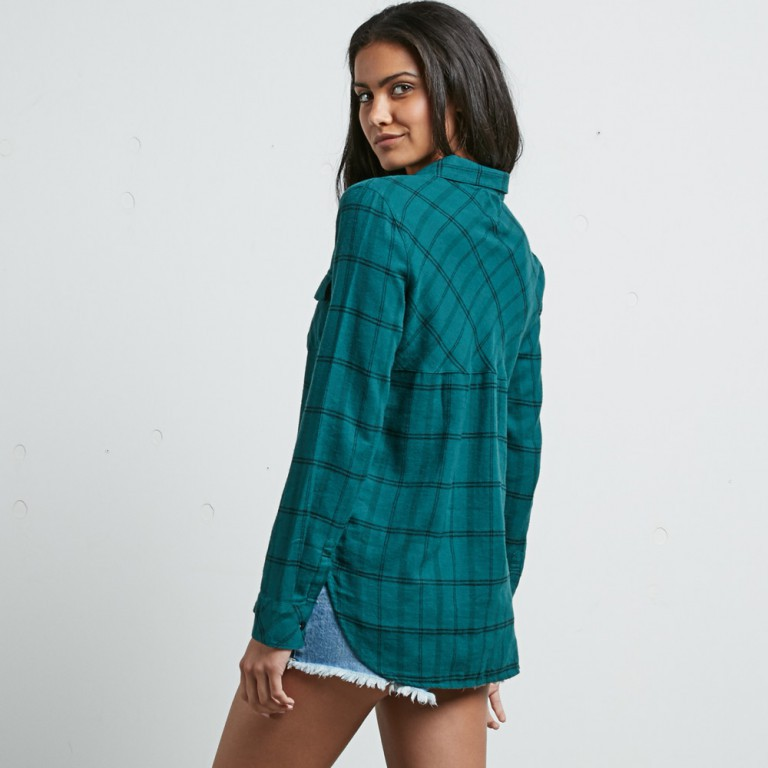 Рубашка VOLCOM STREET DREAMING LS, Midnight Green