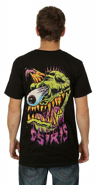 Футболка OSIRIS MISHKA MONSTER, Black