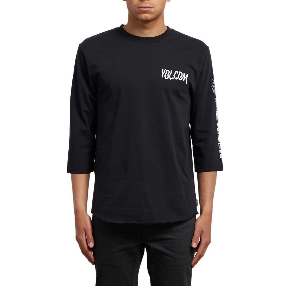 Футболка VOLCOM ENABLER HW 3/4, Black