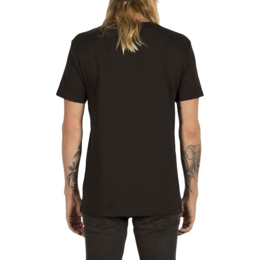 Футболка VOLCOM CIRCLE STONE HTH SS, Heather Black