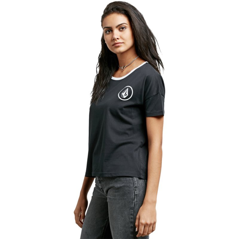Футболка VOLCOM SIMPLY STONED, Black