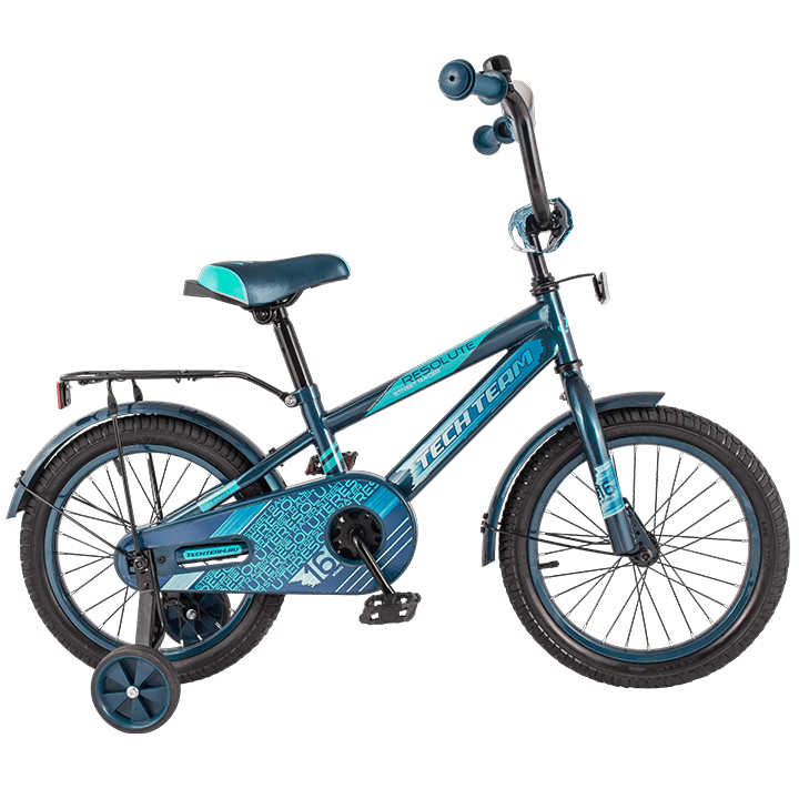"""Велосипед 12"""" TT RESOLUT 134, Синий"""