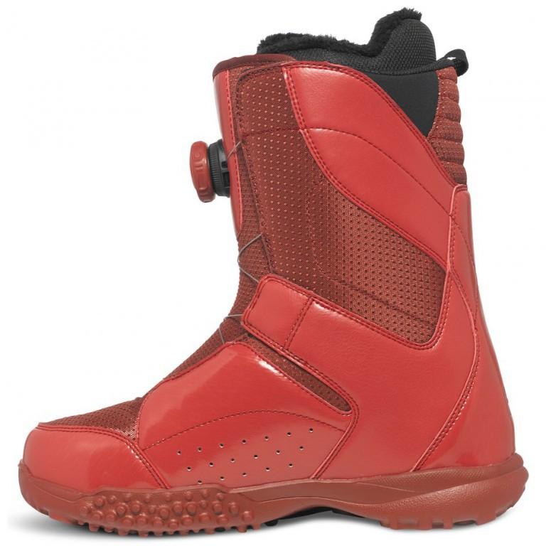 Ботинки для сноуборда DC SEARCH 16-17, Maroon