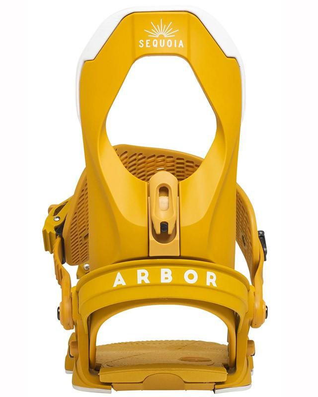 Крепления для сноуборда ARBOR SEQUOIA 20-21, Mustard