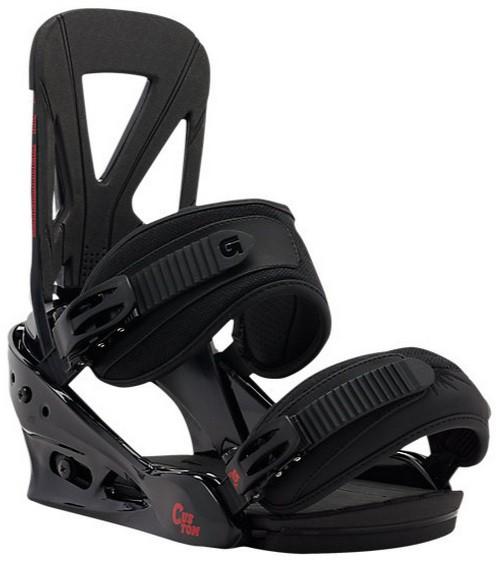 Крепления для сноуборда BURTON CUSTOM 15-16, Black/Red