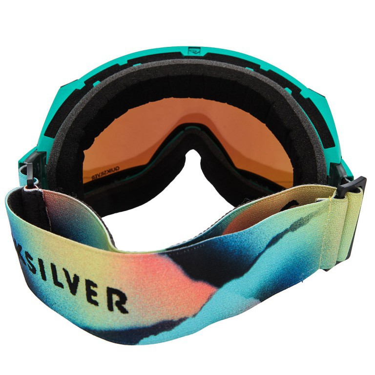 Маска QUIKSILVER HUBBLE, Solar Power Joshua Tree / HD Brown + ML Green