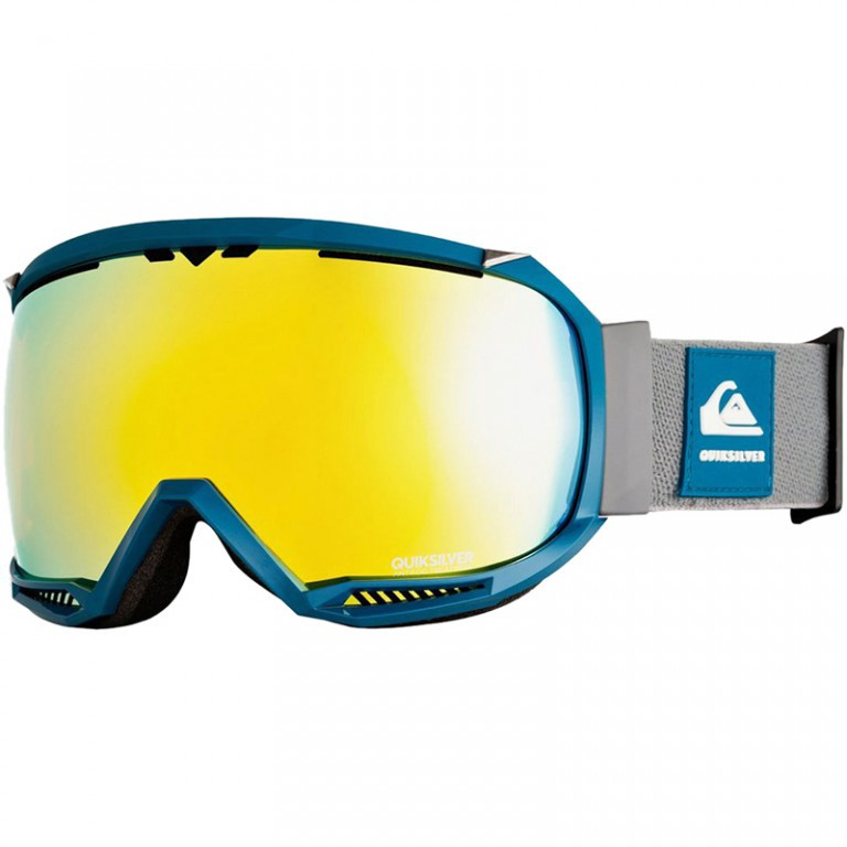 Маска QUIKSILVER HUBBLE, Lyons Blue / Luxe HD Brown
