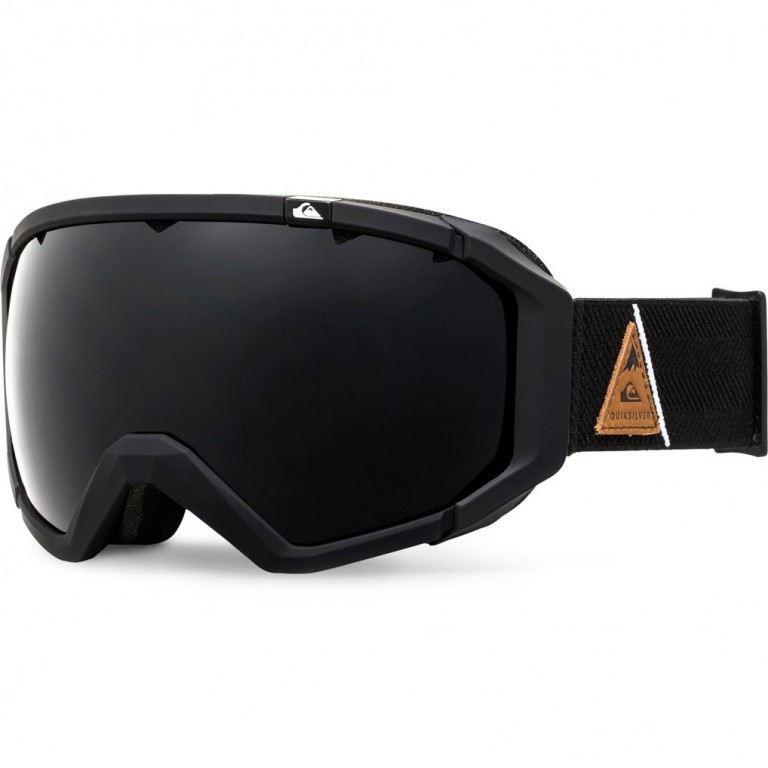 Маска QUIKSILVER Q2, Black / Dark Smoke