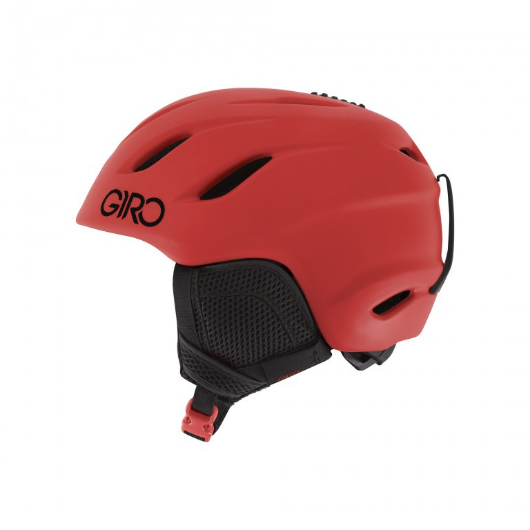 Шлем для сноуборда GIRO NINE JUNIOR, Matte Bright Red