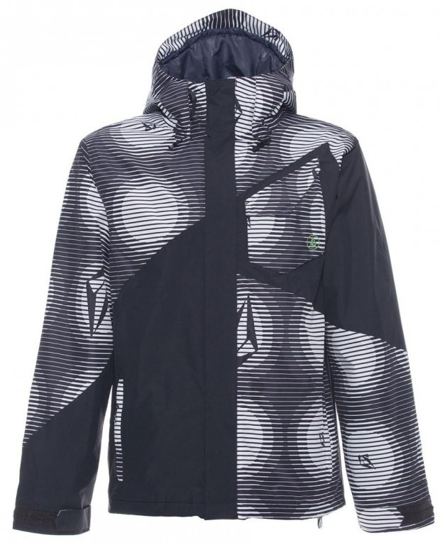 Куртка VOLCOM VERSED, Black White