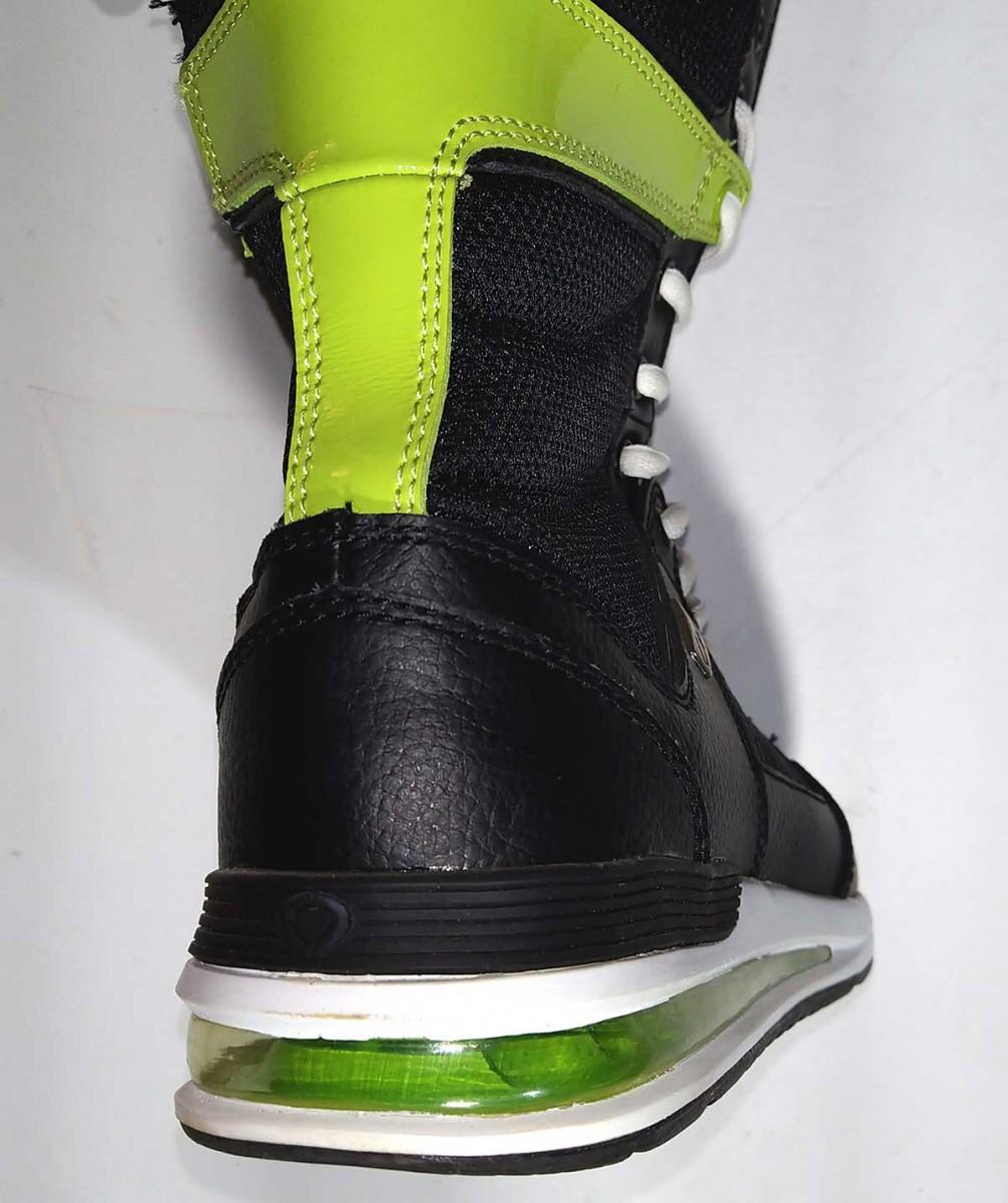 Ботинки CIRCA GETAWAY BOOT, Black/Lime/White