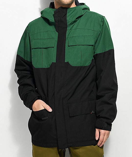 Куртка VOLCOM ALTERNATE INS JKT, Snow Forest