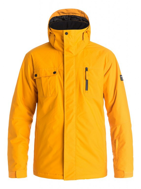 Куртка QUIKSILVER MISSION SOLID, Cadmium Yellow