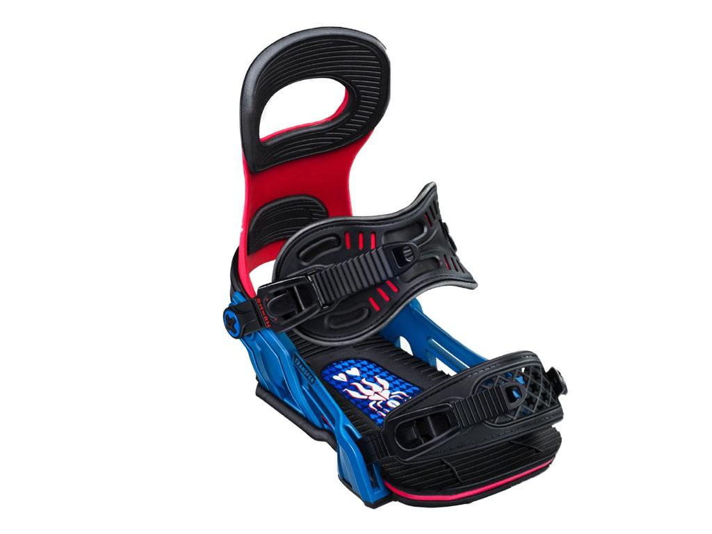 Крепления для сноуборда BENT METAL TRANSFER 19-20, Blue/Red