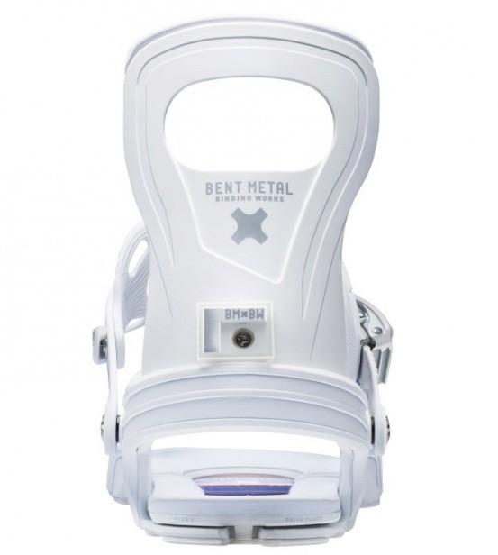 Крепления для сноуборда BENT METAL METTA 19-20, White
