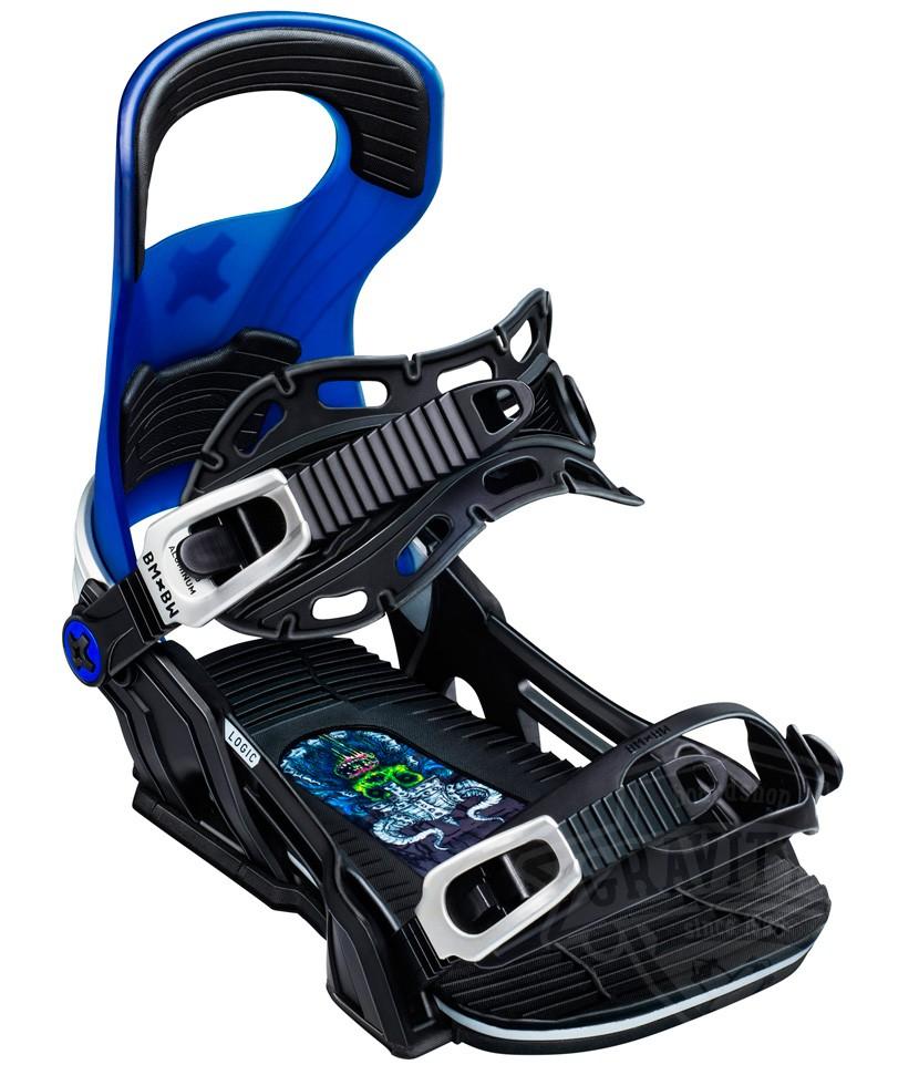 Крепления для сноуборда BENT METAL LOGIC 19-20, Blue