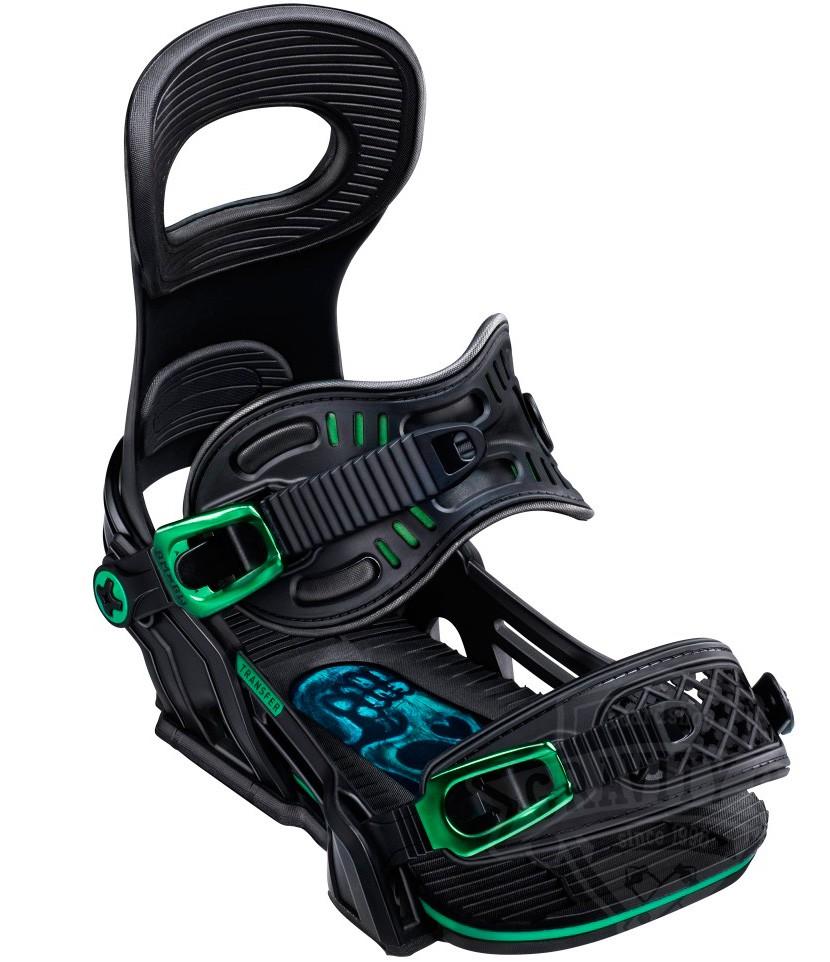 Крепления для сноуборда BENT METAL TRANSFER 19-20, Black