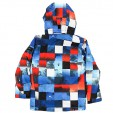 Куртка QUIKSILVER MISSION PRINTED YOUTH, Blue Red Icey Check