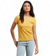 Футболка VOLCOM DON'T EVEN TRIP TEE, Citrus Gold