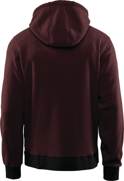 Флисовая толстовка THIRTYTWO FILTER POLAR FLEECE ZIP HOODIE, Burgundy