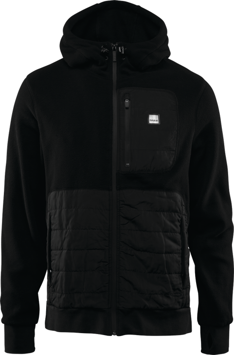 Флис THIRTYTWO FILTER POLAR FLEECE ZIP HOODIE, Black