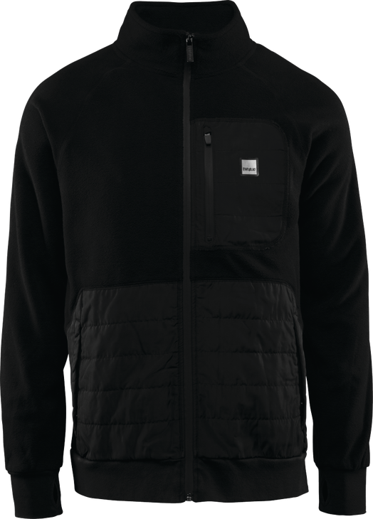 Флис THIRTYTWO LOGAN POLAR FLEECE ZIP BOMBER, Black