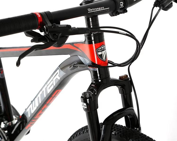 "Велосипед 27,5"" TWITTER TW3700 PRO, Черно-Голубой"
