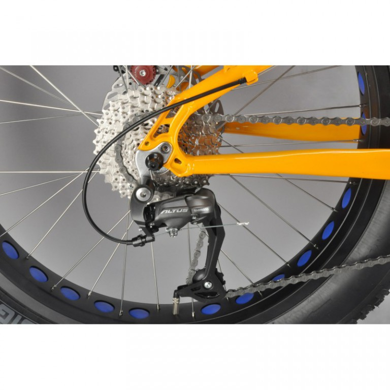 "Велосипед 24"" INOBIKE TRAVELER BOY, Orange Blue"