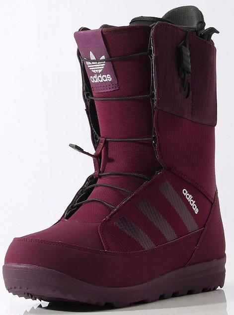 Ботинки для сноуборда ADIDAS MIKA LUMI 15-16, Red