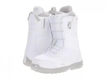 Ботинки для сноуборда BURTON MINT 16-17, White / Gray