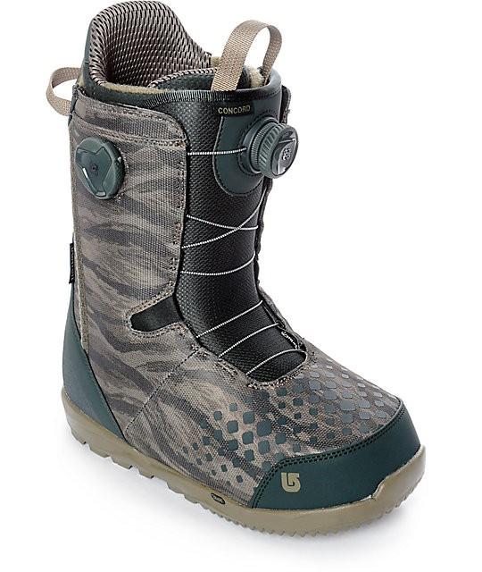 Ботинки для сноуборда BURTON CONCORD BOA 17-18, Tiger Camo