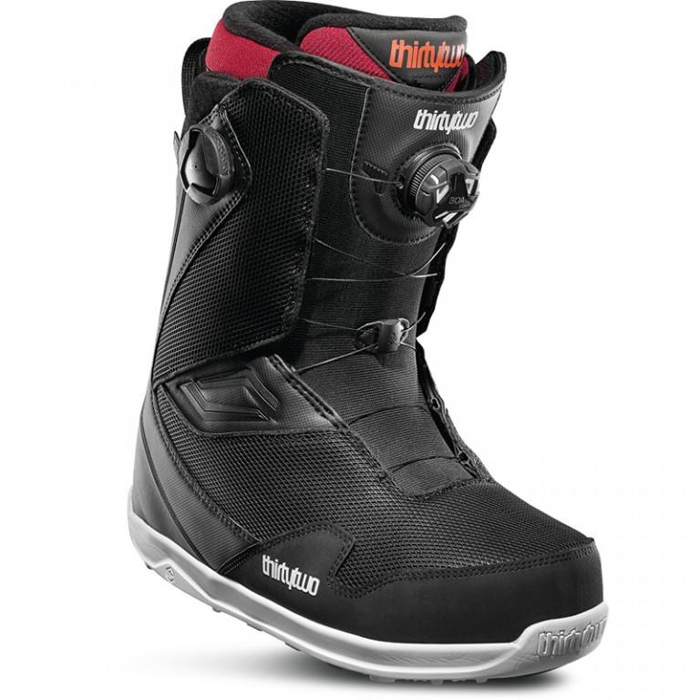 Ботинки для сноуборда THIRTYTWO TM-2 DOUBLE BOA 19-20, Black