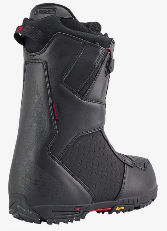 Ботинки для сноуборда BURTON IMPERIAL 16-17, Black Red