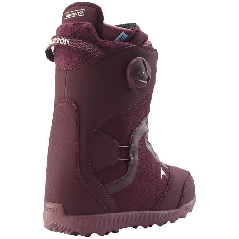 Ботинки для сноуборда BURTON FELIX BOA 18-19, Wine Girl Wasted