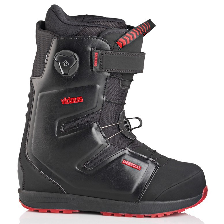 Ботинки для сноуборда DEELUXE VICIOUS PF 11-12, Black