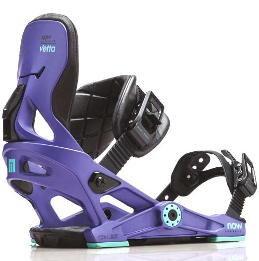 Крепления для сноуборда NOW VETTA 18-19, Purple
