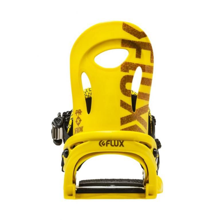 Крепления для сноуборда FLUX PR 16-17, Matte Yellow