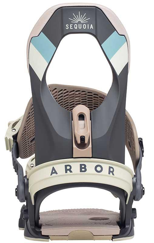 Крепления для сноуборда ARBOR SEQUOIA 20-21, Cool Gray