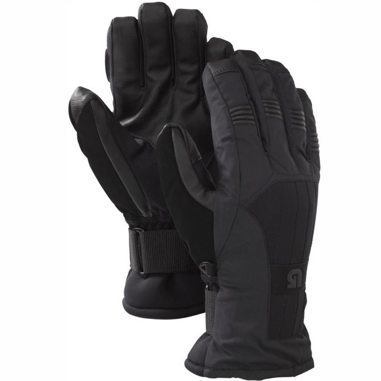 Перчатки с защитой BURTON MB SUPPORT, True Black