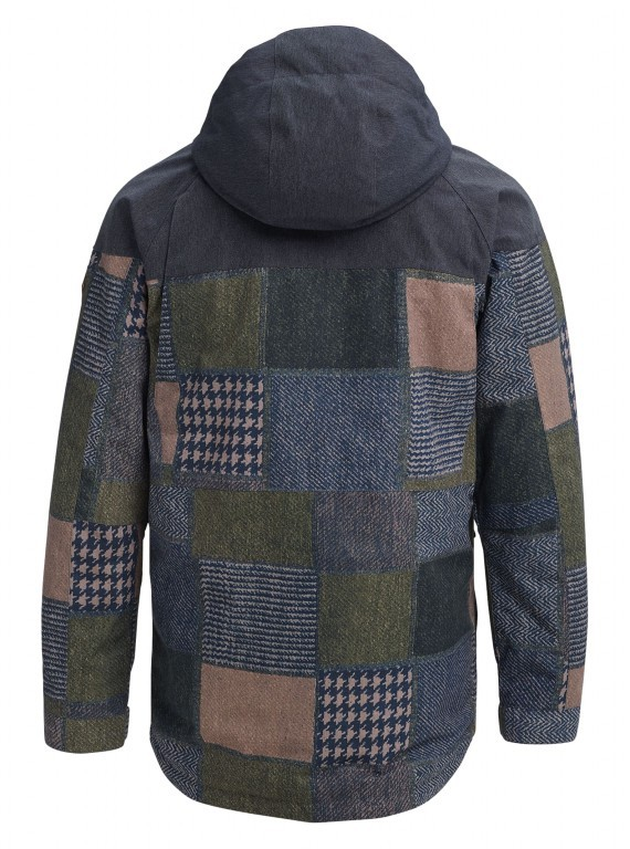 Куртка BURTON MB BREACH 18-19, Patchwork Yardage / Denim