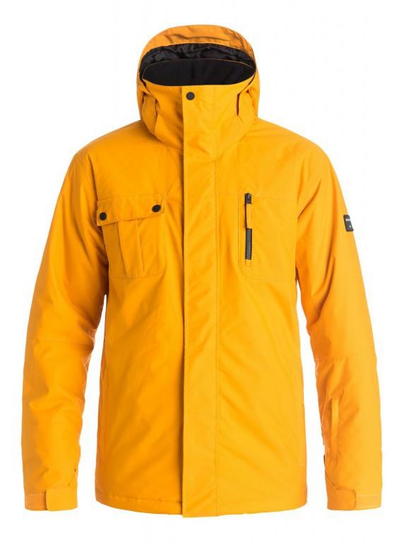 Куртка QUIKSILVER MISSION SOLID, Cadmium Yellow