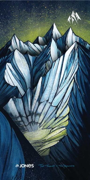 Неквормер JONES YUKON, Blue
