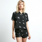 Блуза VOLCOM WHAT YOU NEED SS, Black