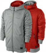 Флисовая Куртка  NIKE HOMME REVERSIBLE, Grey / Red